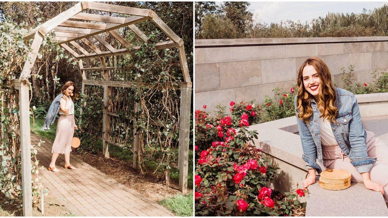 University of Alberta Botanic Garden Just Reopened & Has An Enchanting Rose Trail