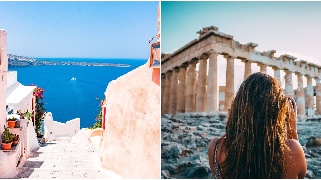Greece Reopening To Tourists But Canadians Didn't Make The Cut