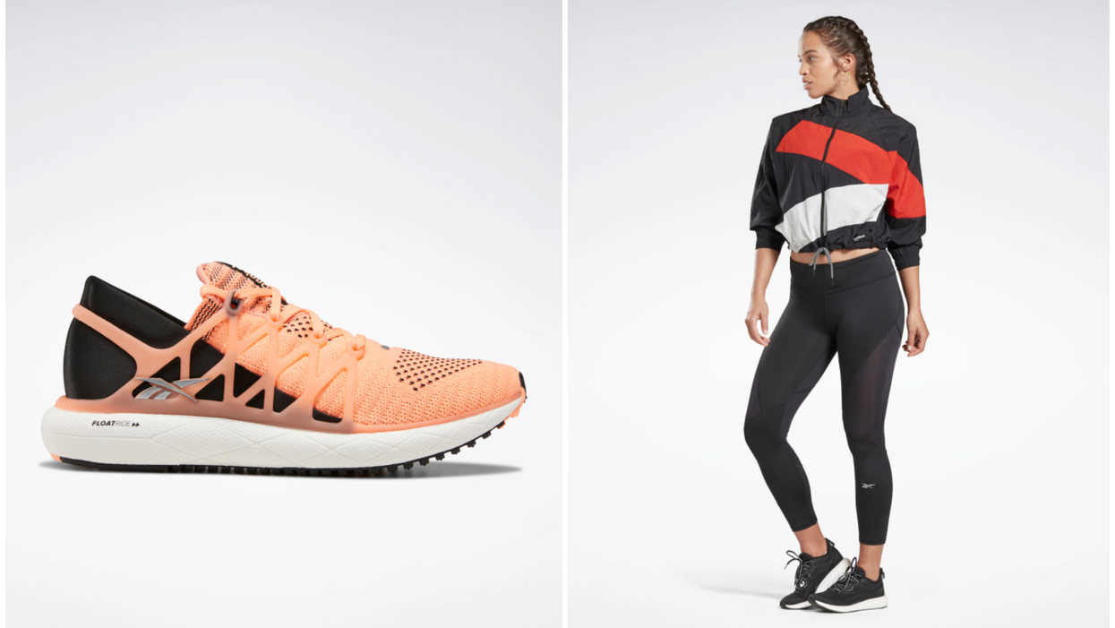 You Can Shop Reebok Canada's Sale On Running Shoes & Apparel Today Only