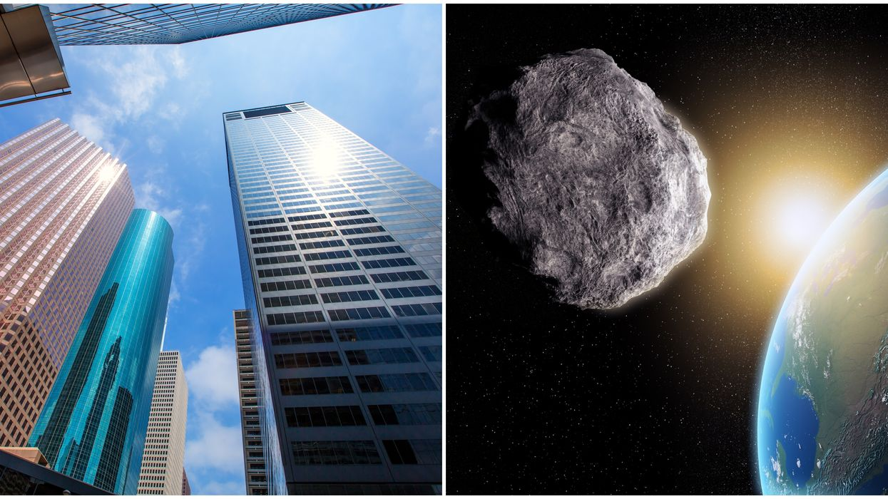 NASA Reveals Asteroid Larger Than Houston's Tallest Skyscraper Will Fly By Earth Saturday