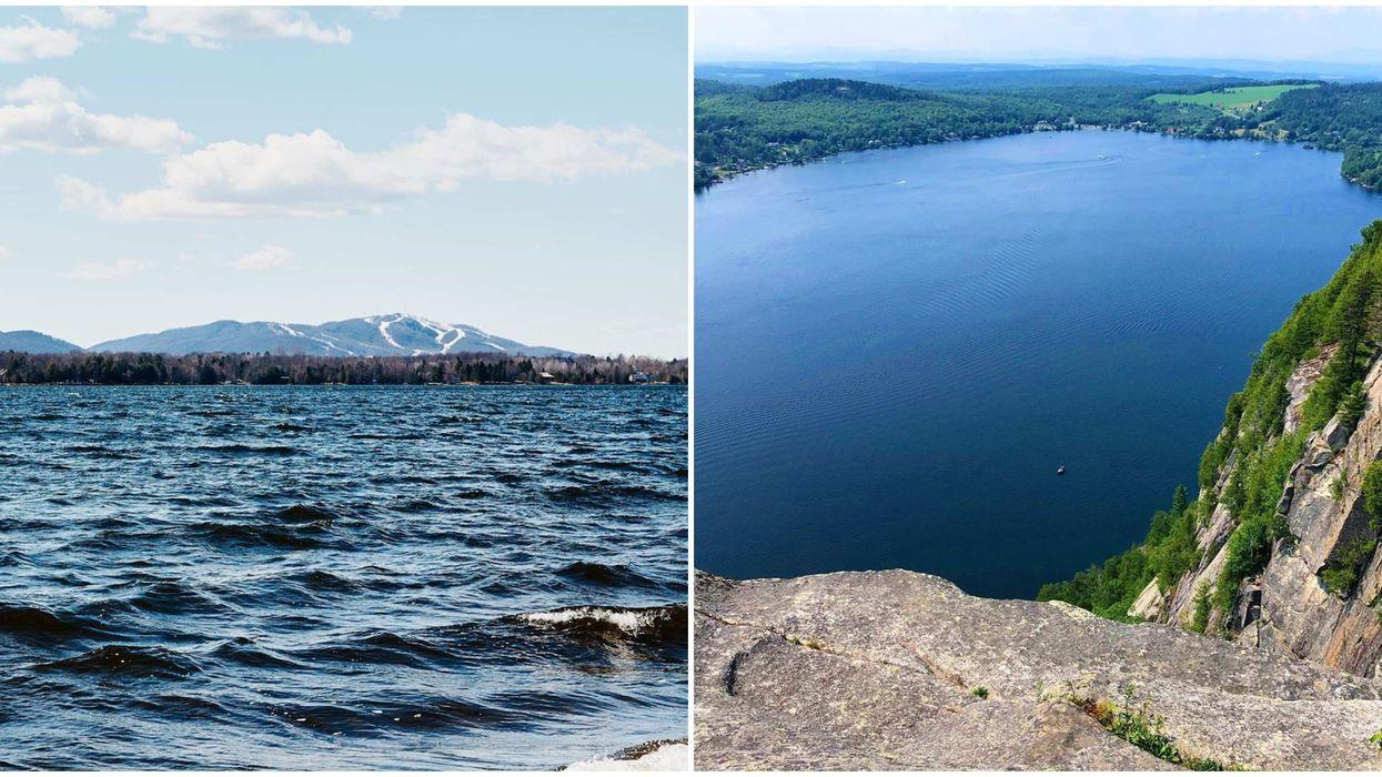 13 lacs magnifiques où te baigner cet été à moins de 2 heures de Montréal