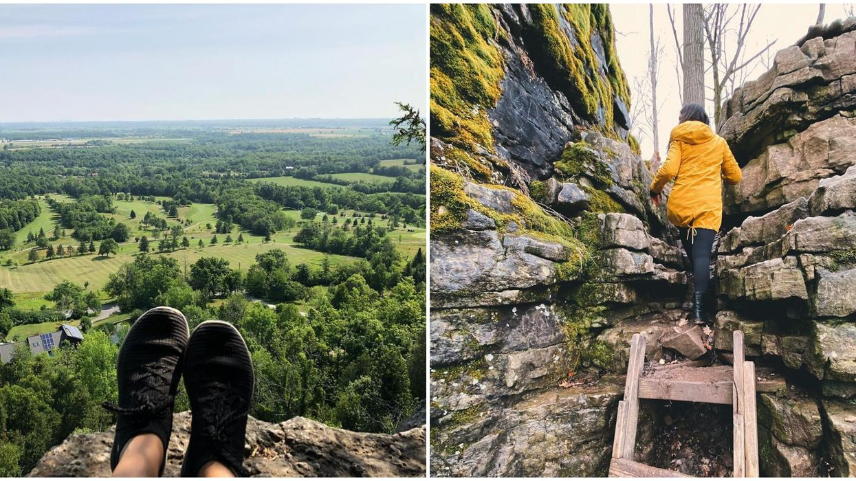 You Can Hike Through Rocky Caverns To An Unbelievable Lookout Near Toronto