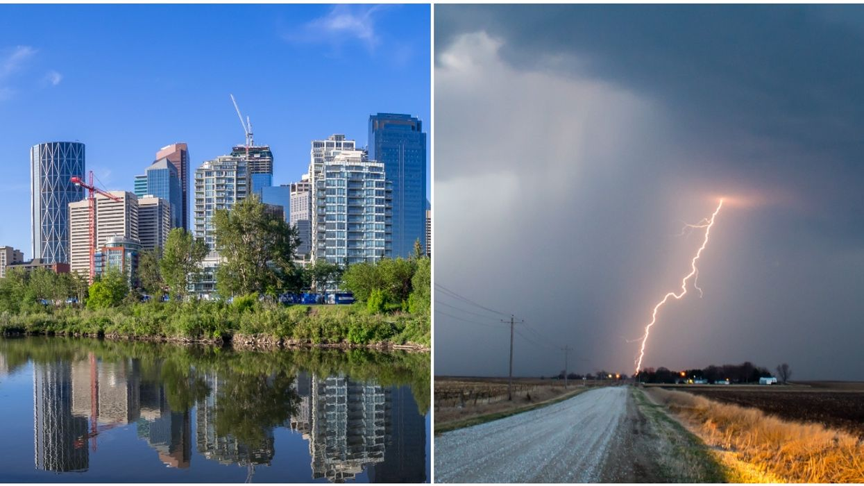 """""""Ring Of Fire"""" Weather In Calgary Will Bring Serious Heat & Thunderstorms This Summer"""