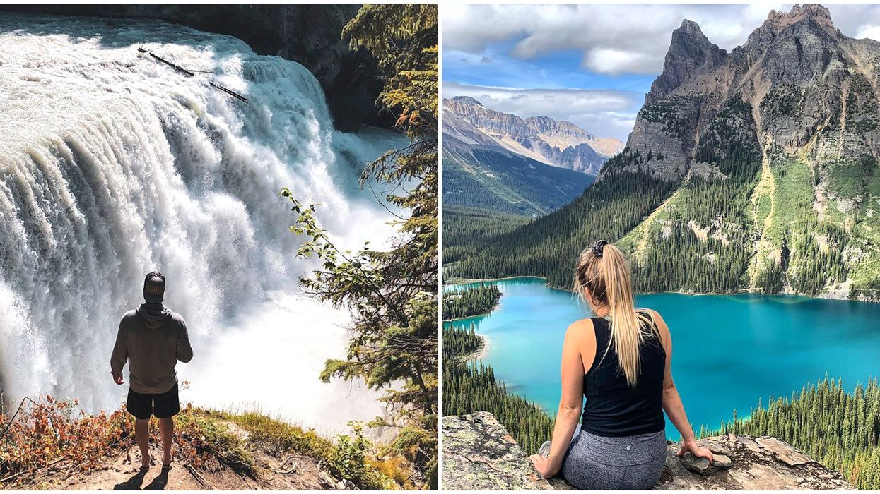 Yoho National Park In BC Has Its Own Niagara Falls & Turquoise Pools