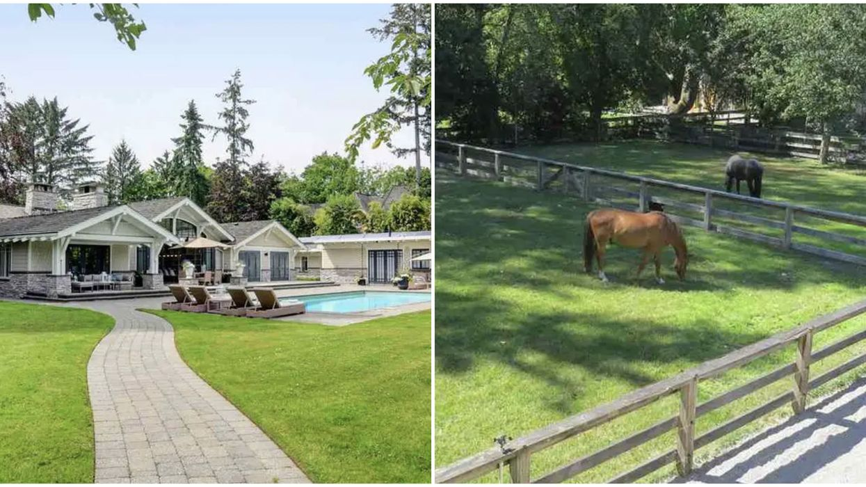 Vancouver Horse Mansion Is Enormous & Perfect For You And All Your Horses (PHOTOS)