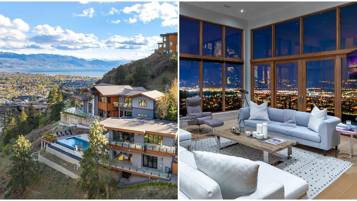 Cliff Mansion For Sale In B.C. Looks Like Canada's Own Hollywood Hills