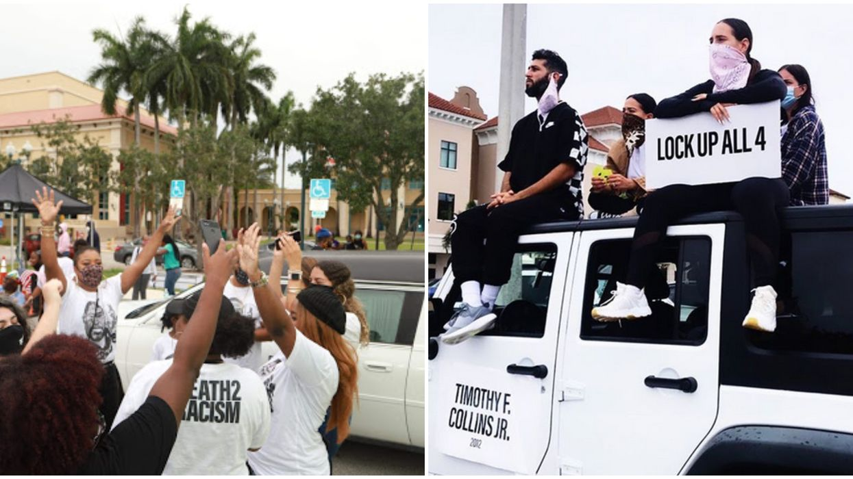 Death 2 Racism Demonstration In Florida Held A Funeral To End Police Brutality