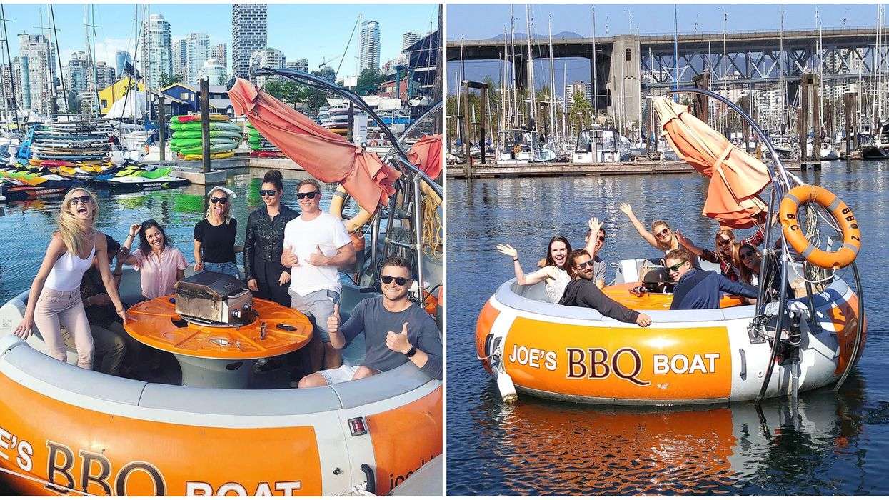Boat With A BBQ In Vancouver: You Can Rent A Giant Party Boat For Super Cheap
