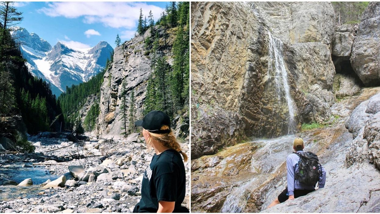 Grotto Canyon Trail In Alberta Will Have You Walking Between Limestone Walls