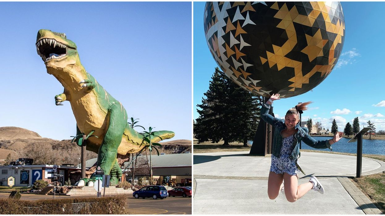 Surreal Albertan Landmarks: Strange Spots For Your Next Summer Road Trip