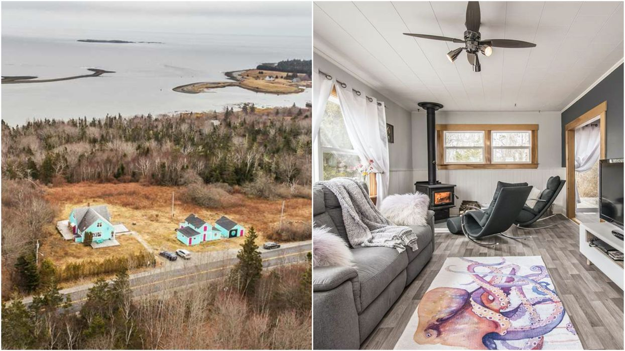 Nova Scotia House For Sale Has A Priceless Location But Costs Less Than $200K (PHOTOS)