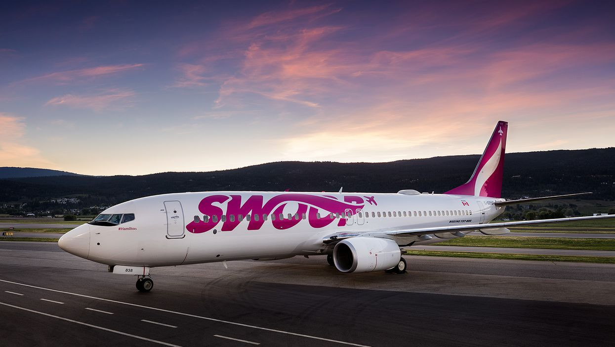 Swoop Flights Booked Throughout June Will Support Healthcare Workers