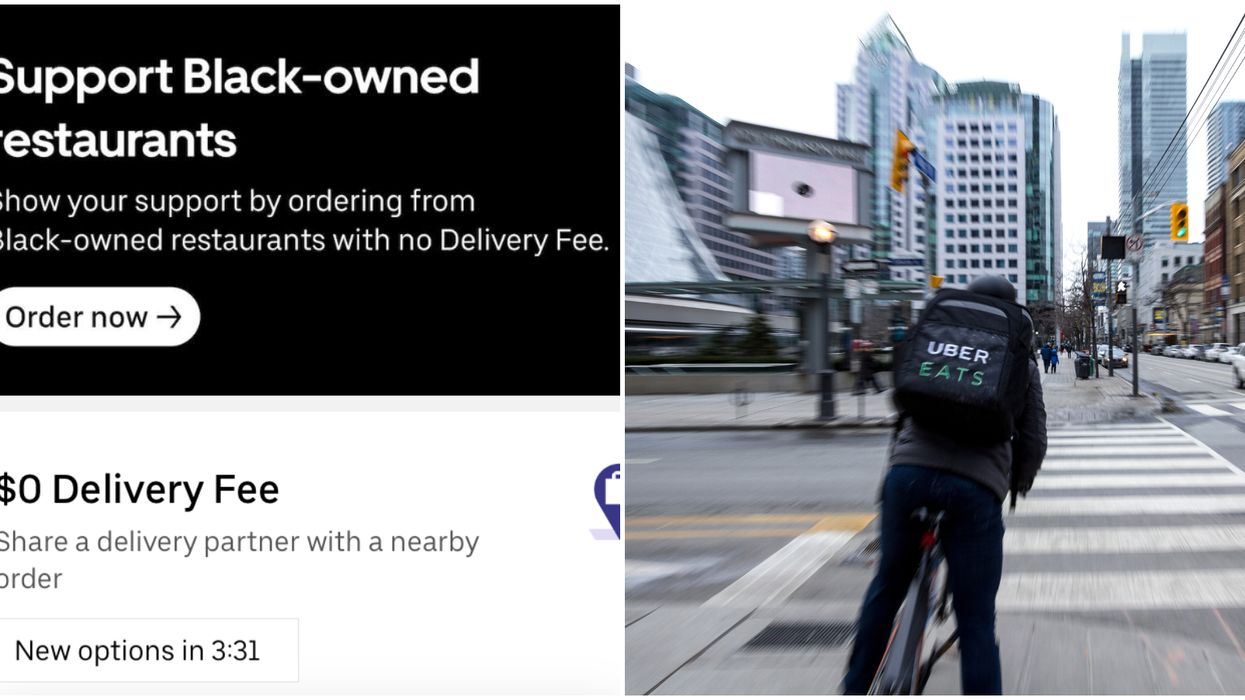 Uber Eats Canada Is Highlighting Black-Owned Restaurants & Waiving Delivery Fees For Them