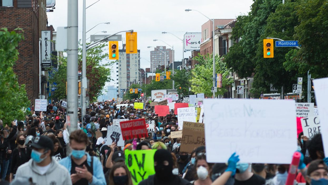 The Toronto Weekend Protests Starting Friday Don't Involve Black Lives Matter, Group Says