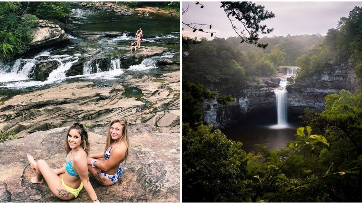 7 Alabama Waterfall Hikes That Are Cheap And Easy To Get To This Summer