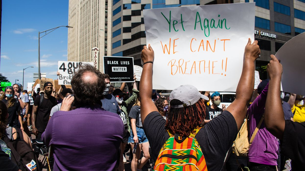 Toronto Protest On Friday Had 'I Can't Breathe' Chants Echoing Through Downtown