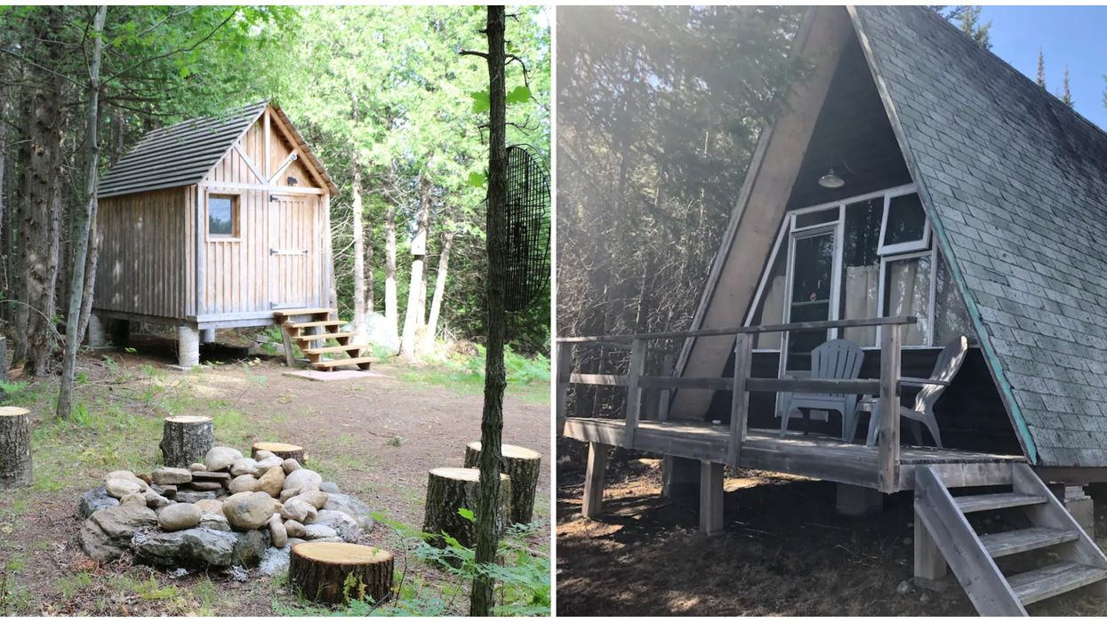Ontario's Cheap Cabins Let You Enjoy The Outdoors Without Breaking The Bank