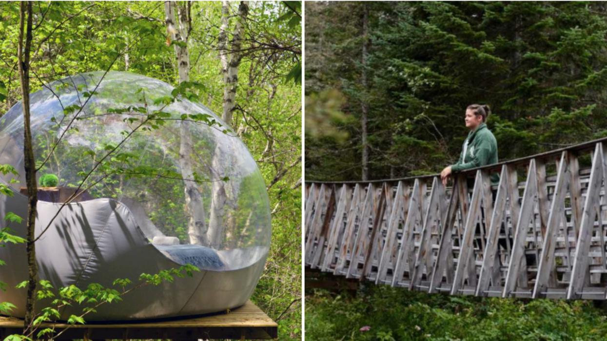 7 endroits où aller faire du camping au Québec si tu détestes monter des tentes