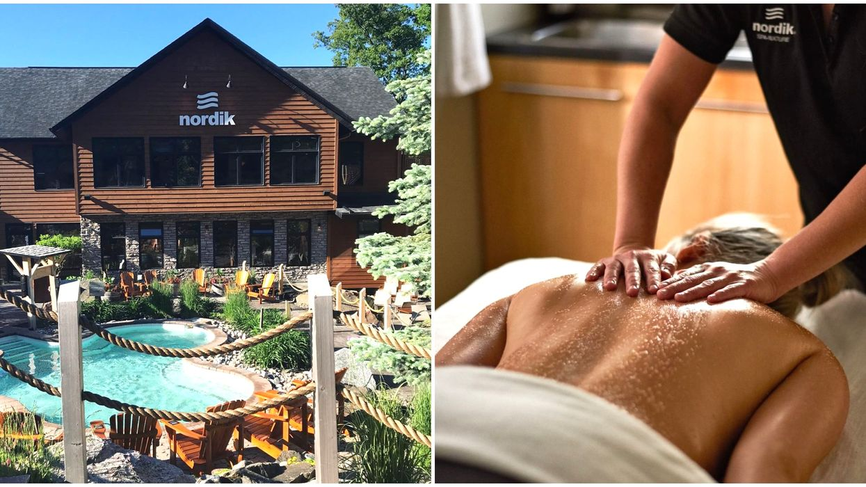Nordik Spa Massage Options Are Finally Available Again In Quebec