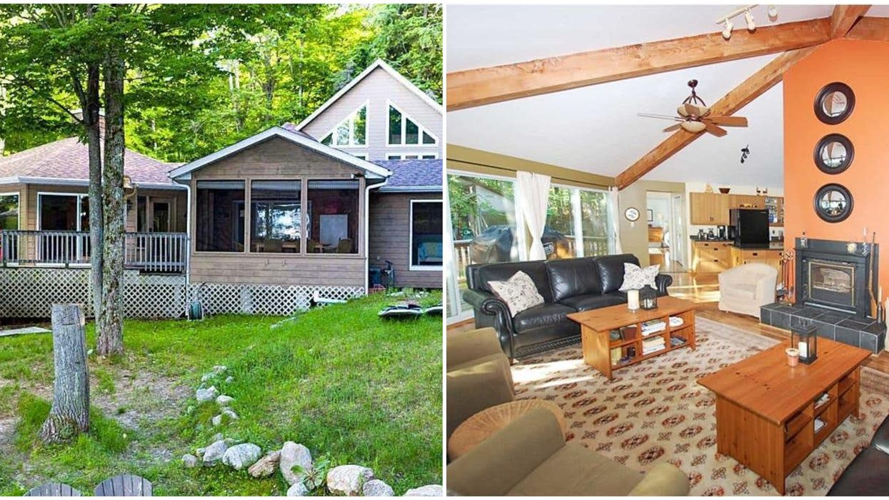 An Ontario Cottage For Sale Is Perfect For That Private Paradise Life