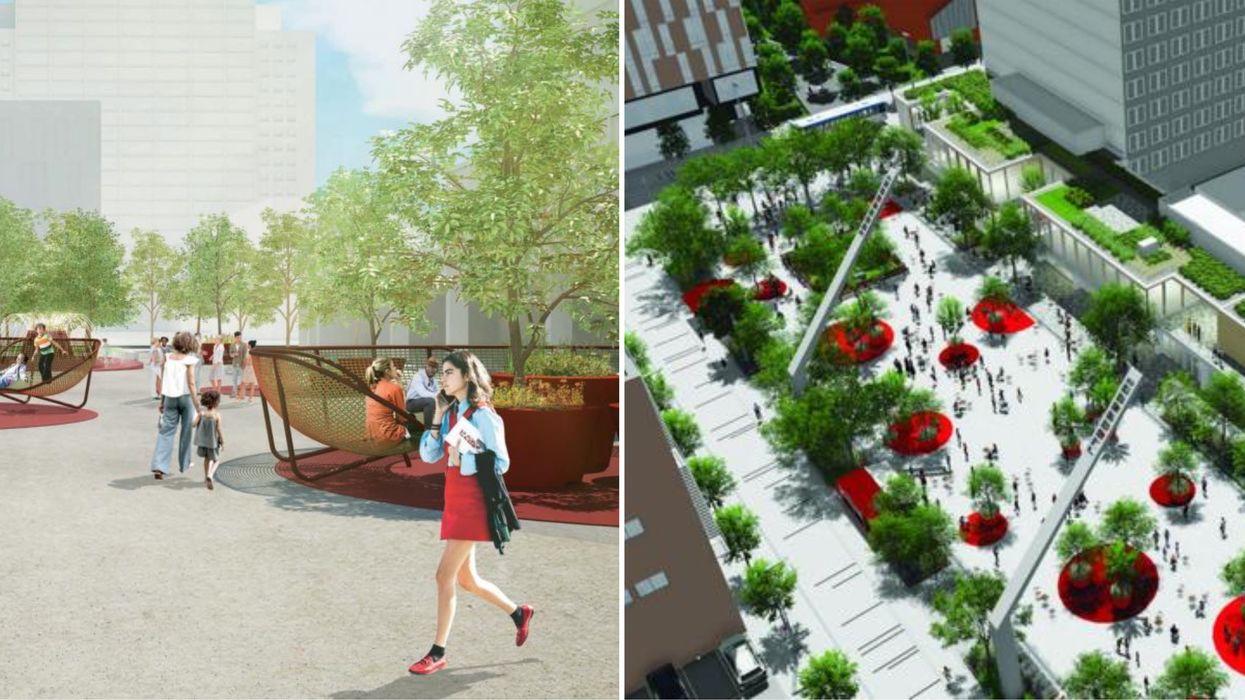Une énorme terrasse est prévue au Quartier des spectacles et voici à quoi elle ressemblera