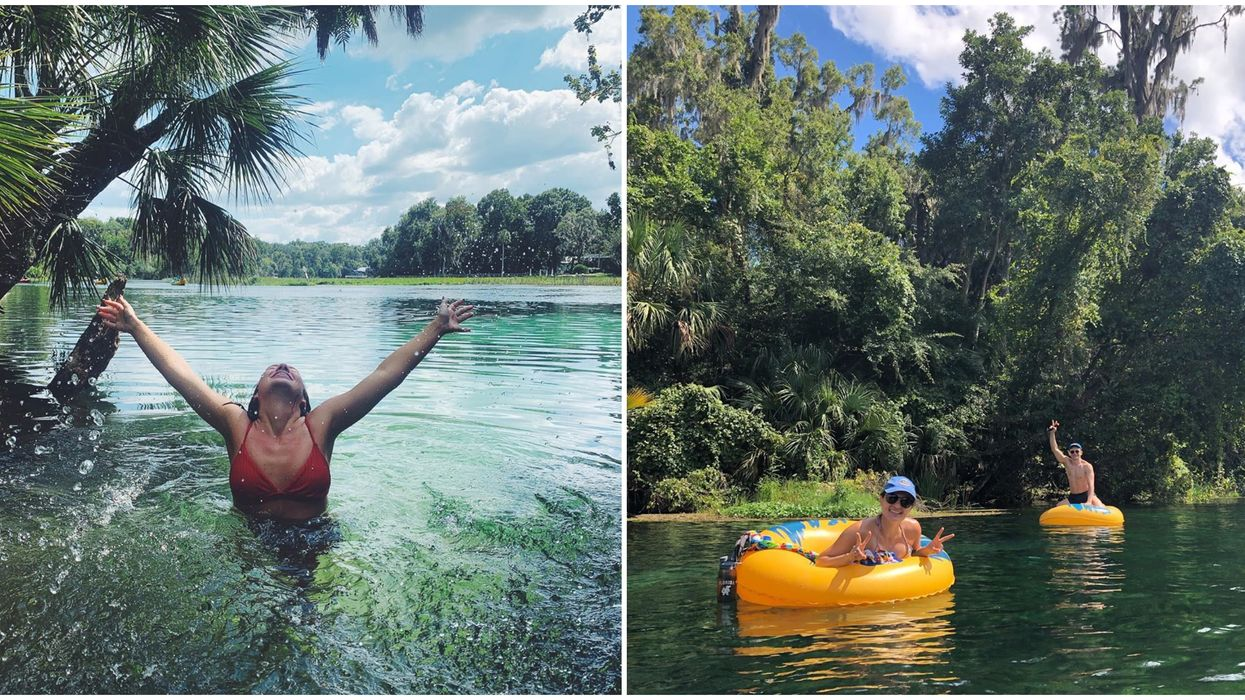 Rainbow Springs State Park Lazy River Tubing Rentals Are Finally Open For The Season