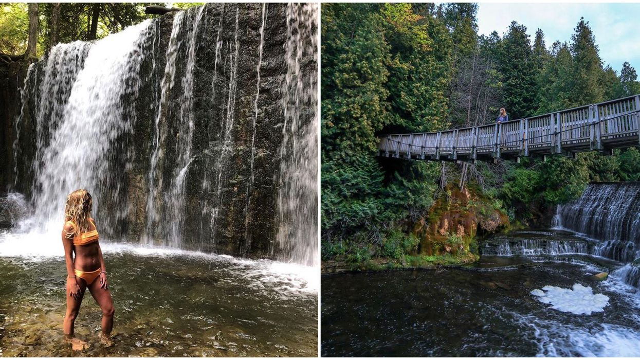 Ontario's Secret Waterfall Hikes Will Make Your Summer Even More Stunning