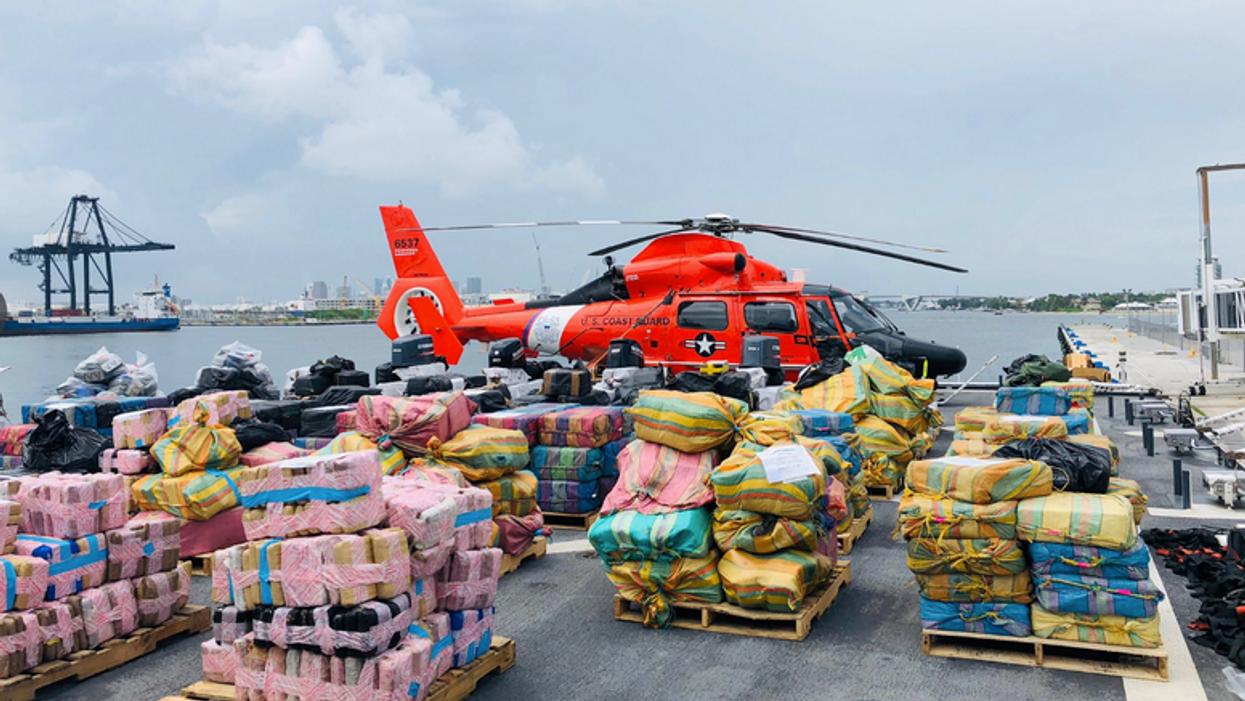 U.S. Coast Guard Confiscate $400M Worth Of Drugs & Offloads Cargo Near Miami