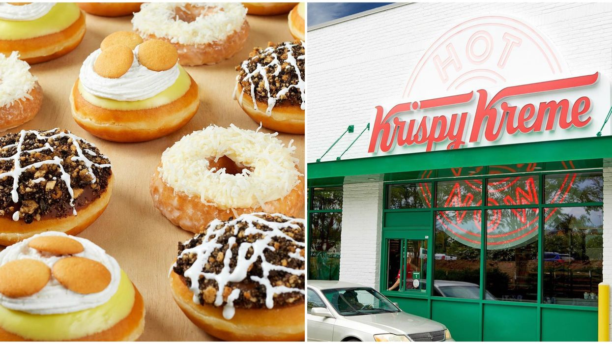 Krispy Kreme Donuts In Canada: Decadent Dessert Flavours Just Dropped For Summer