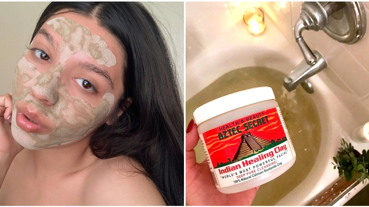 Amazon Canada's Best-Selling Beauty Product Is This $20 Clay Mask