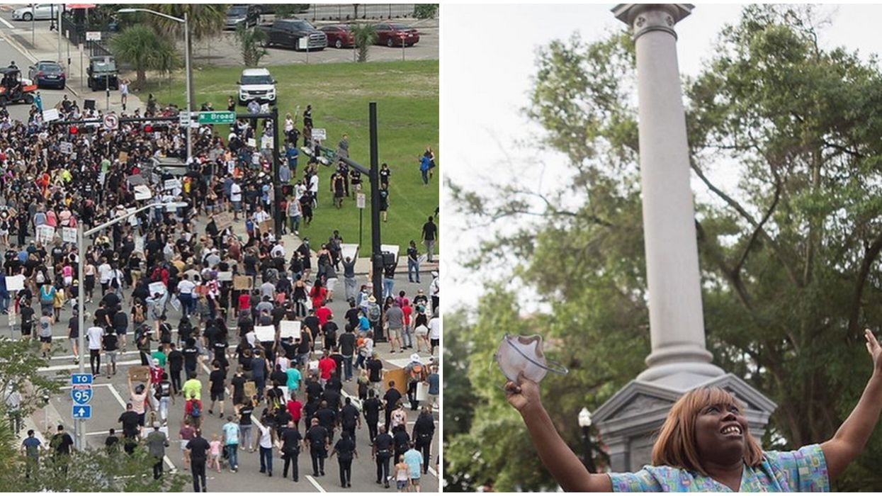 Confederate Statues In Jacksonville Are Coming Down After Weekend Protests
