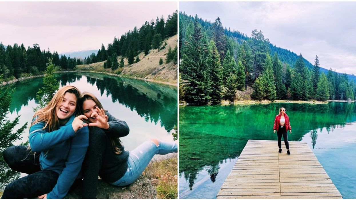 Valley Of The Five Lakes In Alberta Is A 4-km Trail That Takes You To 5 Bright Green Lakes