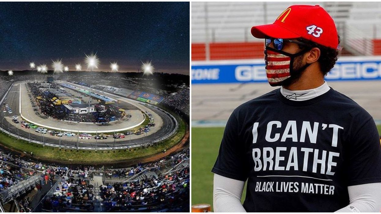 Bubba Wallace NASCAR Driver From Alabama To Race In Black Lives Matter Car Tonight