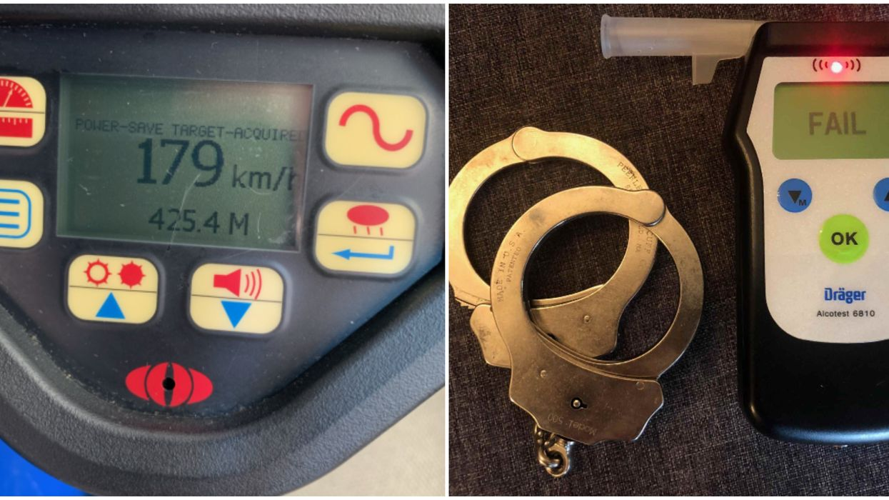 Toronto Police Officer Was Caught  Speeding Down Highway 407 While Drunk