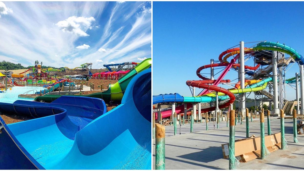 New Waterpark In Sevierville Tennessee Will be Opening At The End Of The Month