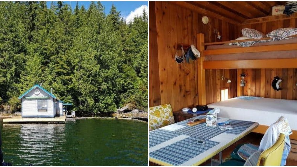 You Can Buy An Adorable Floating Tiny Home For $105K In BC Right Now