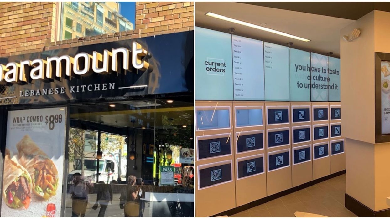 Box'd Paramount Opening In Toronto Is Canada's First 'Fully-Automated' Restaurant