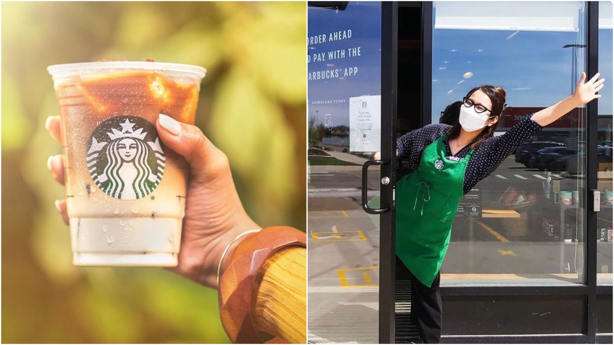 Starbucks Canada Is Reopening Patios & Cafes & Some Have Already Made A Comeback