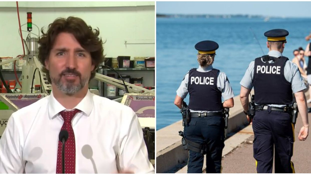 Justin Trudeau's Systemic Racism Comments Go Against What The RCMP Has Said