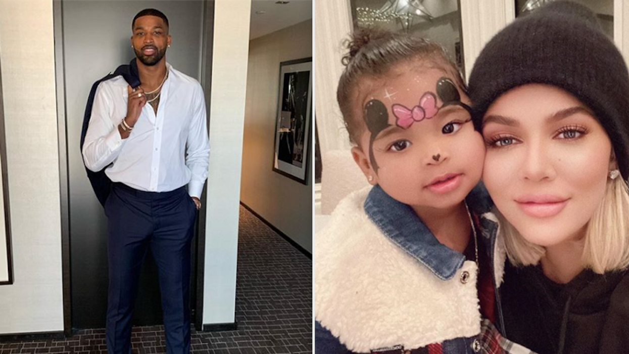 Looking cozy! Tristan Thompson and Khloe Kardashian were seen looking pretty cuddly while hanging out at a mutual friend's birthday party this week. The friends and co-parents have quite the rocky past but have reportedly been quarantining together with their daughter for the past few months.