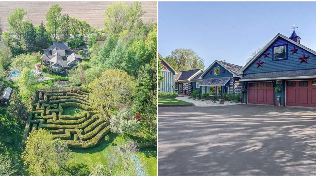 Ontario's Maze Home For Sale Lets You Get Lost In Your Own Backyard