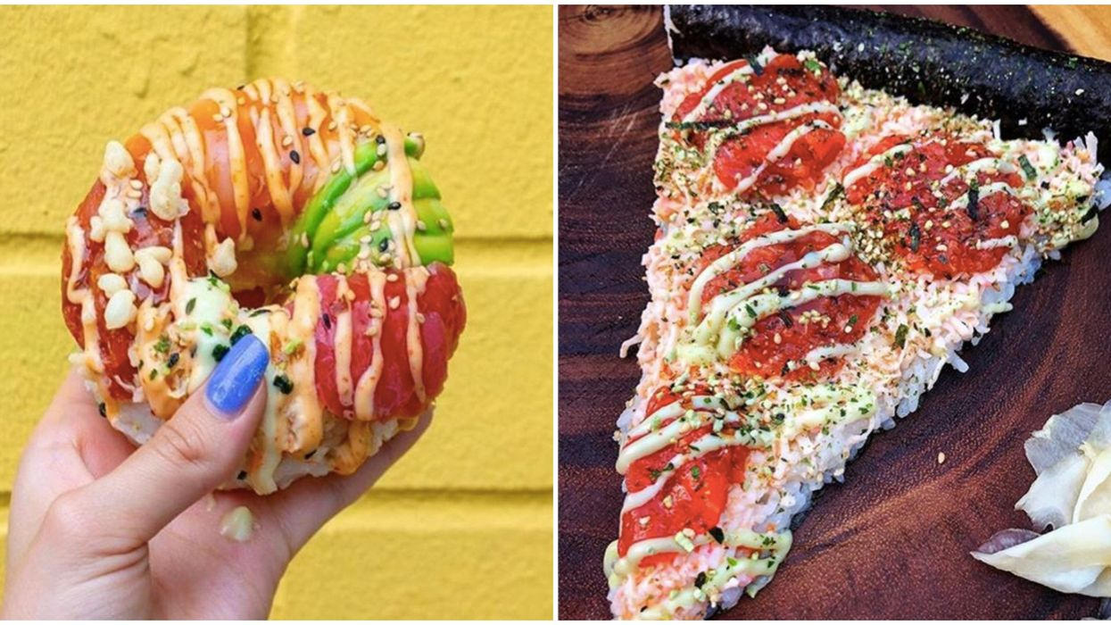 You Can Get Sushi Donuts & Poke Pizza At This Brand New Houston Spot