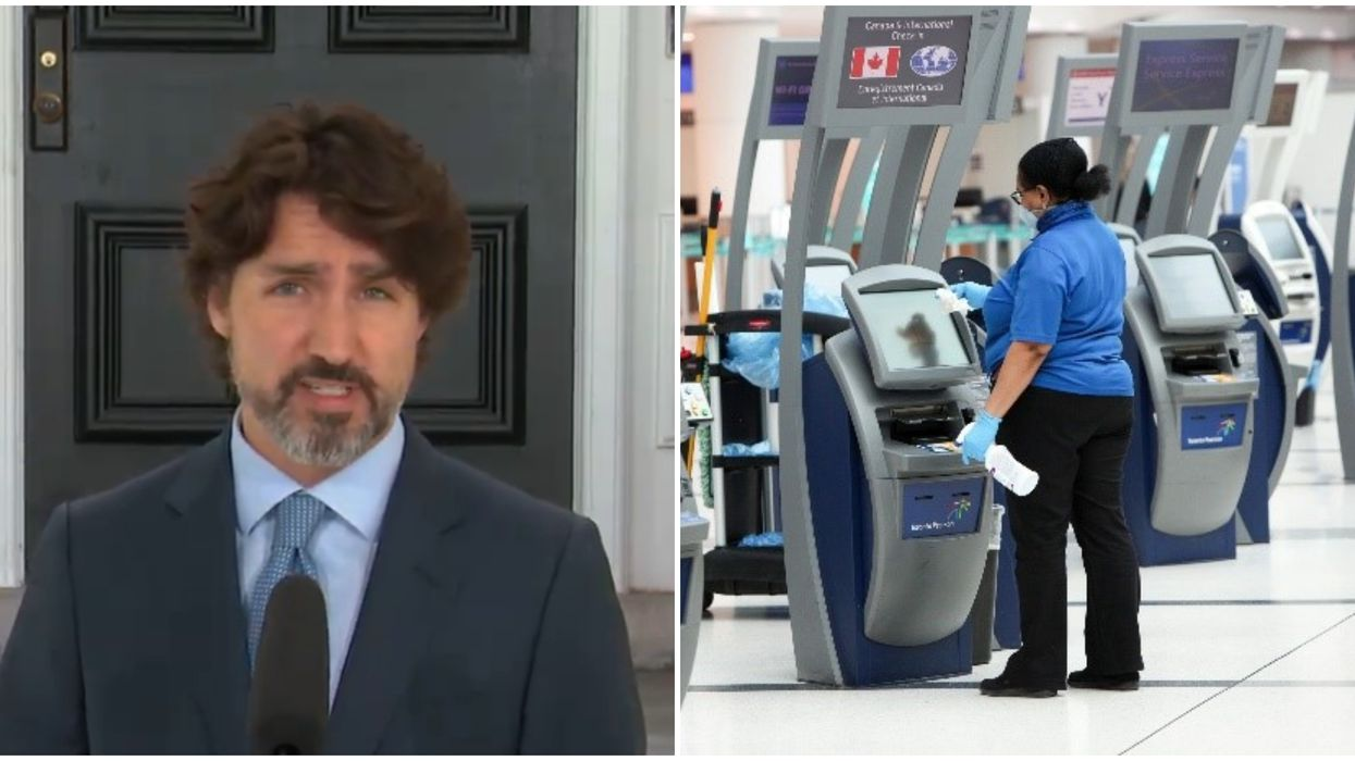Temperature Checks In Canada Are Now Required For All Air Passengers