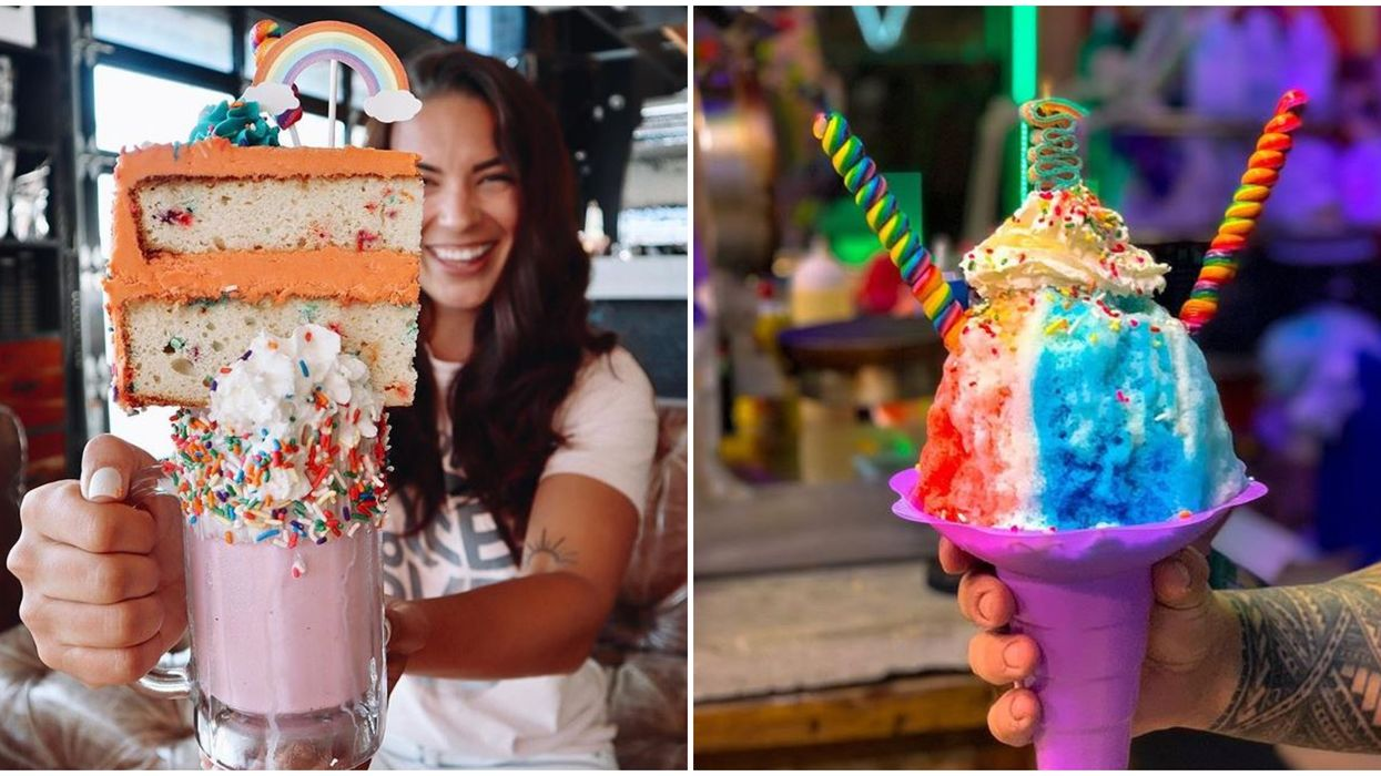 7 Rainbow Foods And Drinks In Florida That Are Almost Too Pretty To Eat