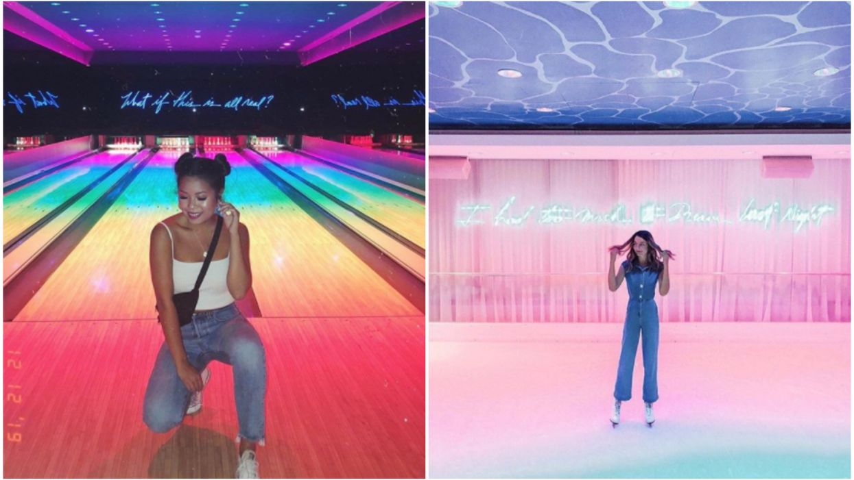 Basement Miami In Florida Has A Bowling Alley And Ice Rink Hidden Inside The Nightclub