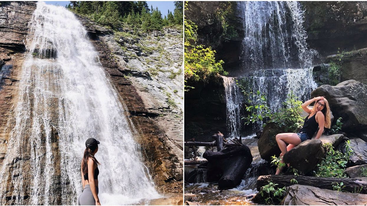 8 Waterfall Hikes In Alberta That Only Locals Know About