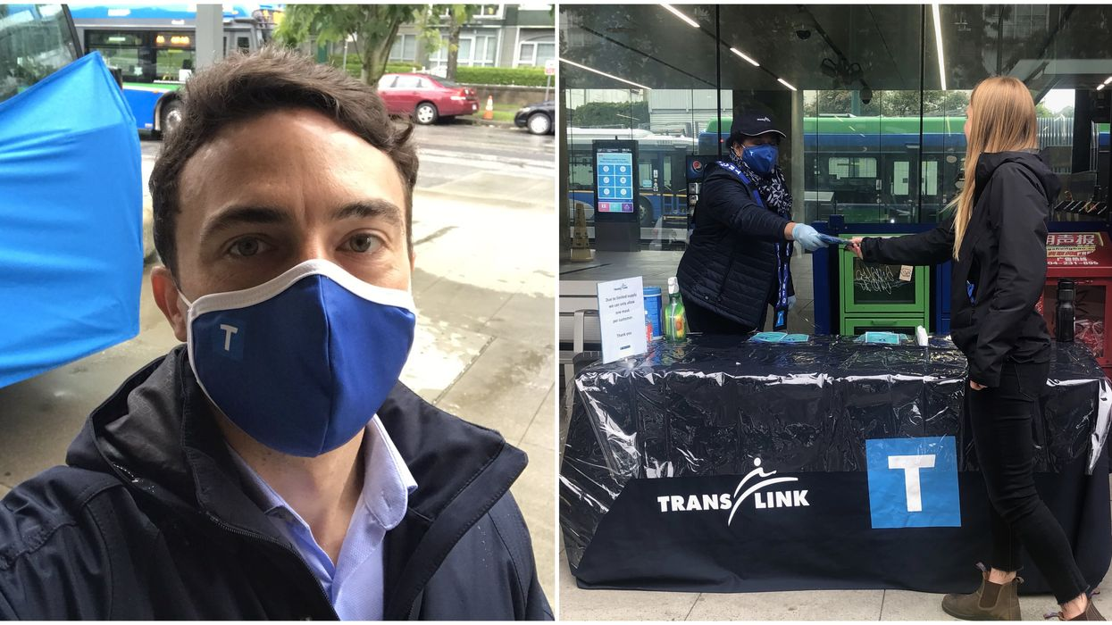 Vancouver: Free Masks Are Being Handed Out Soon & There Are 15,000 Up For Grabs