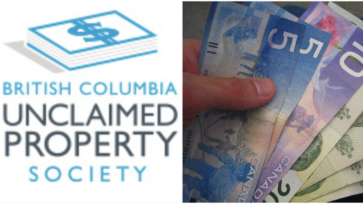 Money In BC: There's A Lost & Found For Cash And Some Could Be Yours