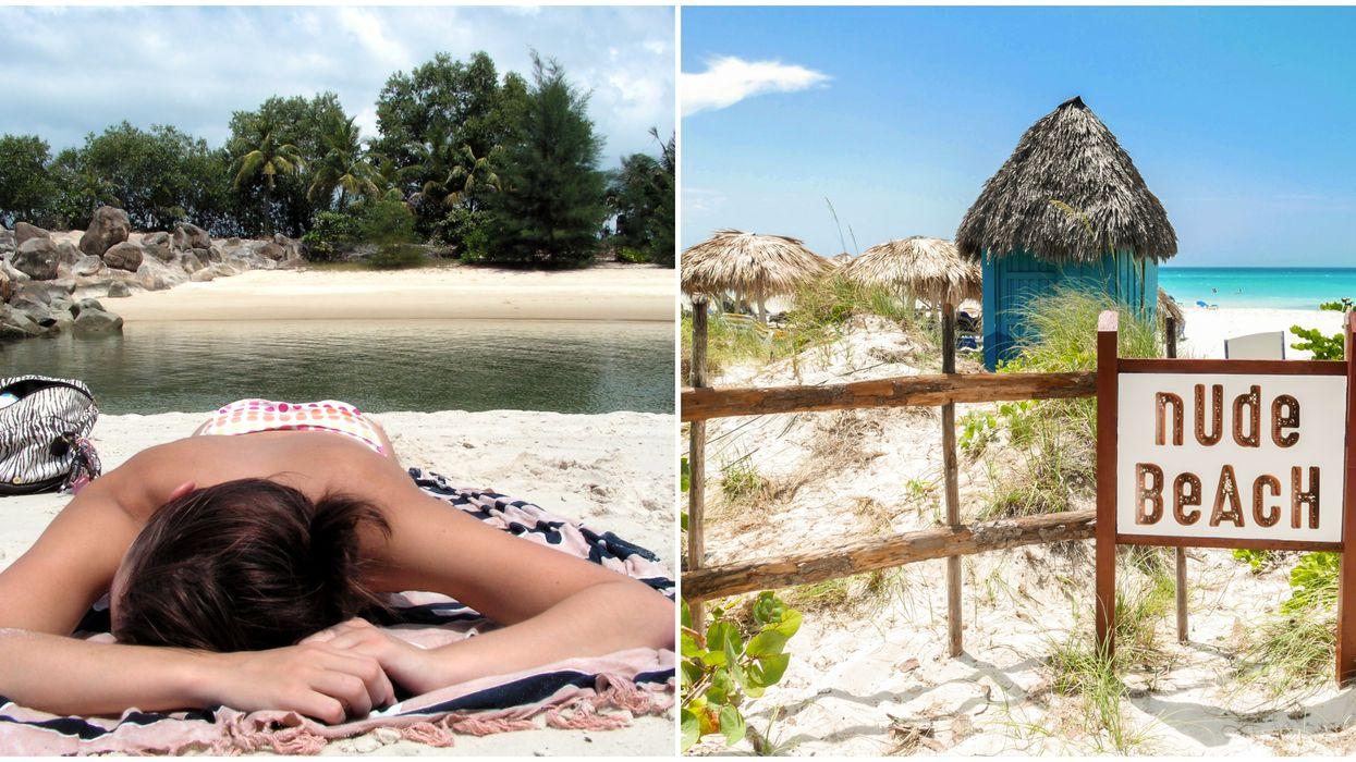 6 Nude Florida Beaches To Fix Your Damn Tan Lines