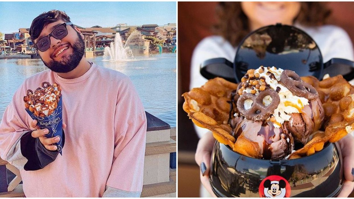Disney Springs Restaurant Aristrocrepes Has Mouthwatering Bubble Waffles And Crepes